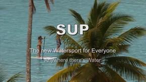 SUPは水があれば、どこでも、だれでもできるウォーター・スポーツ