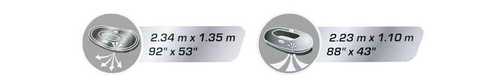 RX-4000 Raft Set / HYDRO-FORCE BOAT / Bestway 61107のポイント2