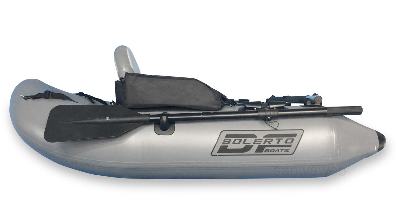釣り用インフレータブル・フロート(1人チェアー) DJU 170 の右側部