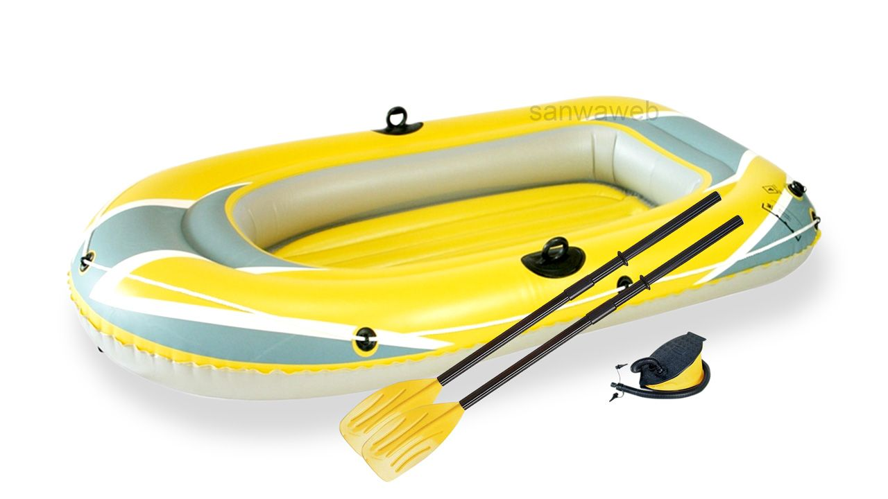HYDRO-FORCE Raft Set / Bestway 61083 オール フットポンプ