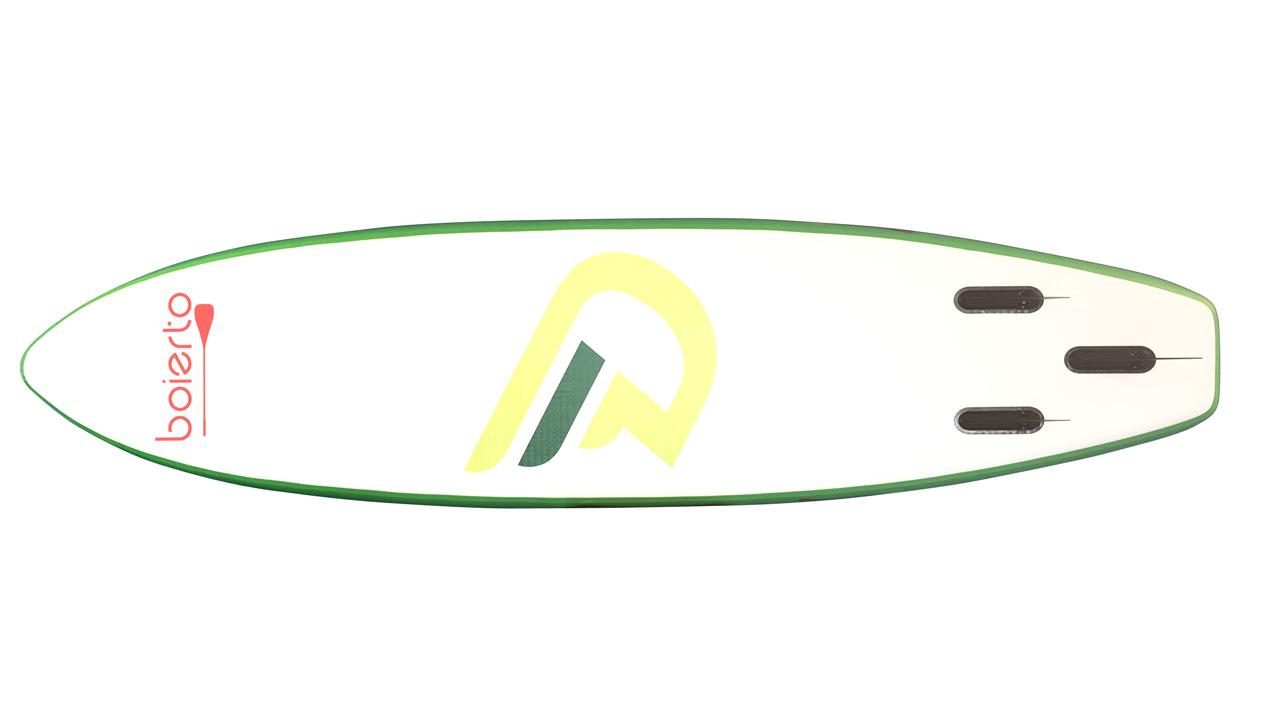 インフレータブルSUP [丸みのあるフォームで安定・多目的] 320×76×15