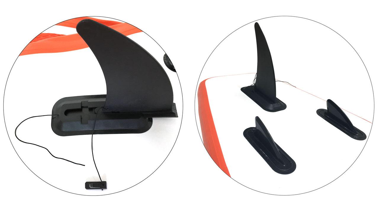 インフレータブルSUP [軽量10kg、薄厚10cm] 270×76×10