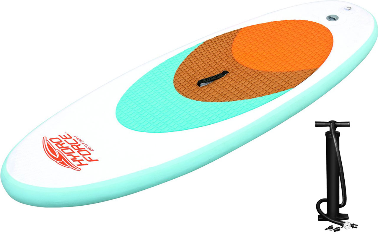 子供用インフレータブルSUP [ミニ・スタンドアップパドル] キャリングバック付 65085