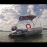 Boat Hydro-Force Mirovia Bestway with bonnet – FLORIANÓPOLIS