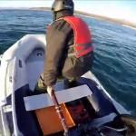高速インフレータブル ボート、ヤマハ 8馬力と Hydro-Force 3.3m