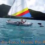 空気注入式ヨット(セールボート) Hydro Force Marine Pro Raft