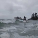 Paddle Canada Tofino SUP Surf May 9 2015 T'ashii