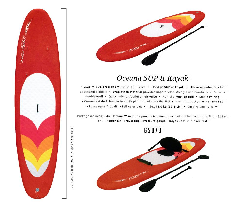 Oceana SUP & Kakak / HYDRO-FORCE / Bestway 65073