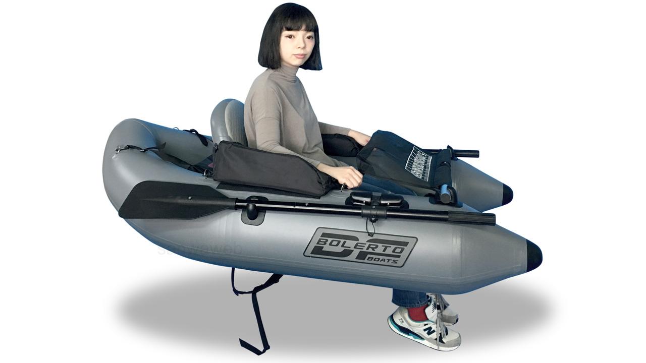 釣り用インフレータブル・フロート(1人チェアー) DJU170