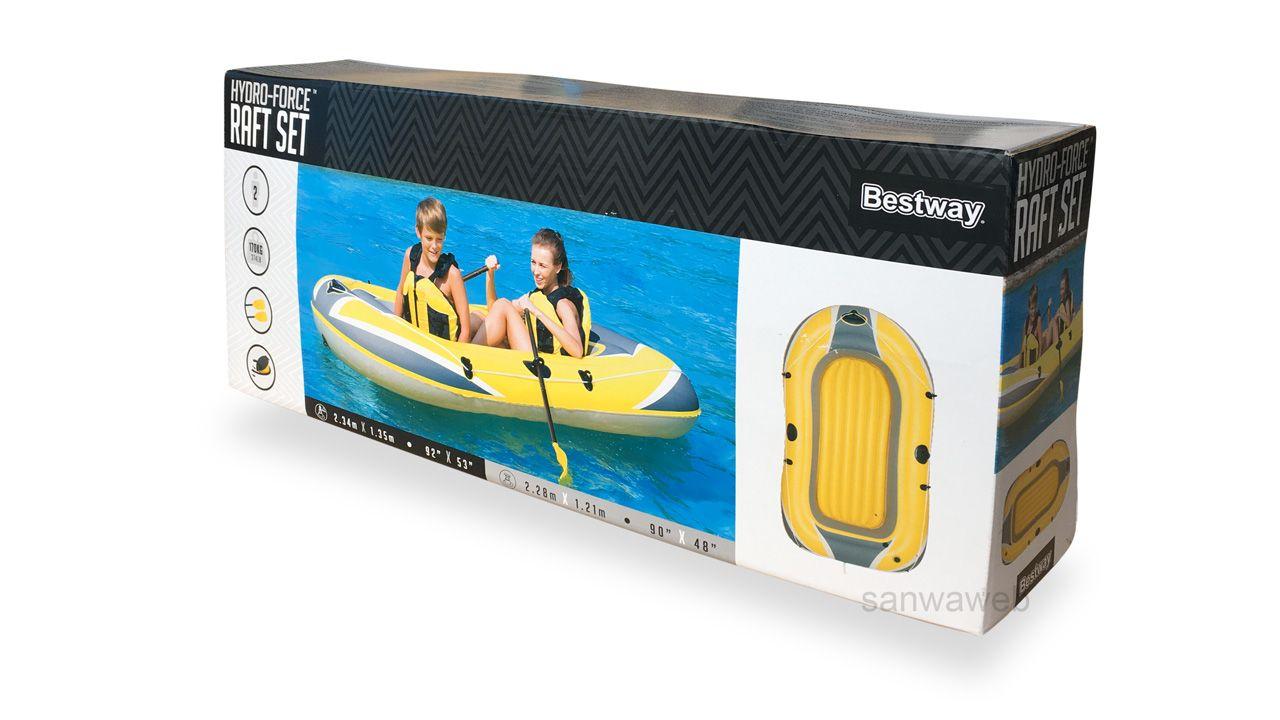 HYDRO-FORCE Raft Set / Bestway 61083 ケース